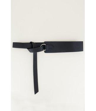 My Jewellery Tailleriem met knoop | zwart