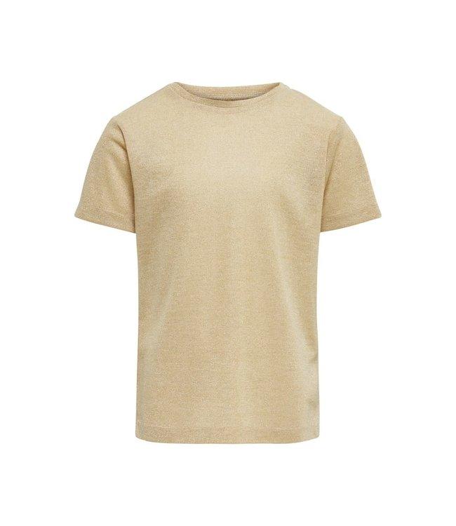KONSILVERY S/S TOP JRS 15200227 | gold