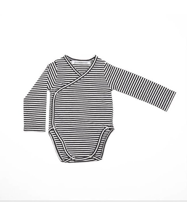 BODYSUIT | b/w stripes