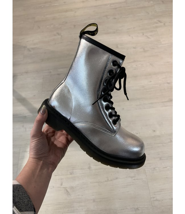 DR BOOTS II | metallic grey