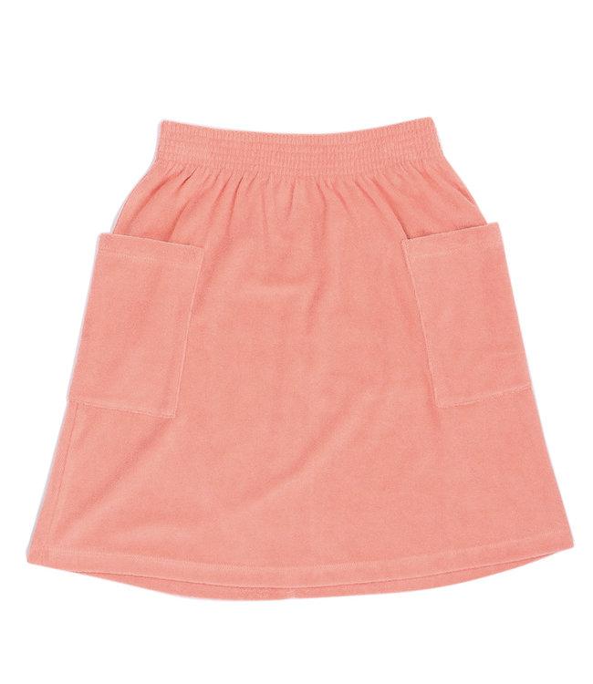 Basics long skirt | pink
