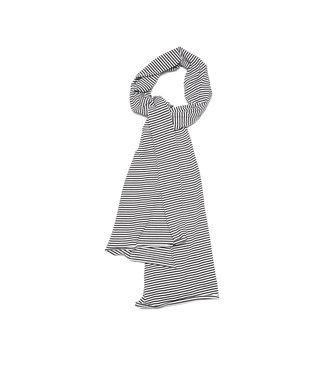 MINGO Scarf| b/w stripes