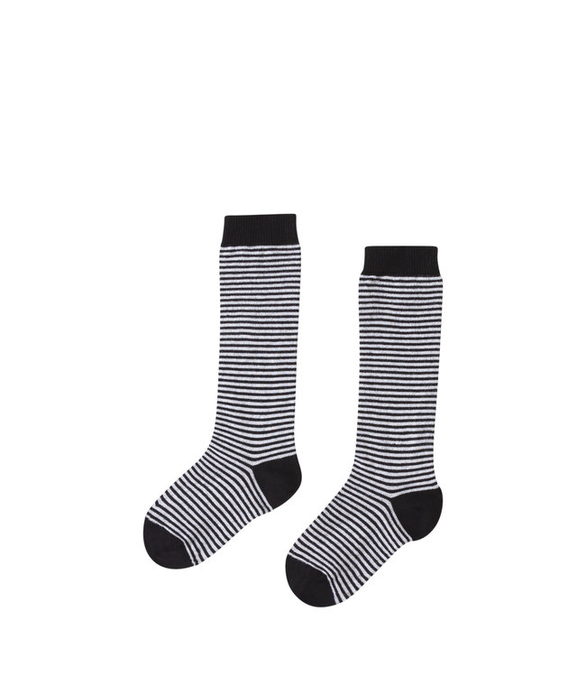 Knee socks | striped/black