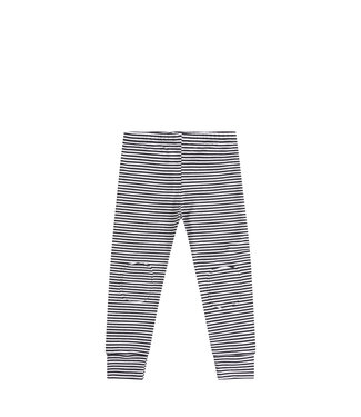 MINGO Legging | b/w stripes
