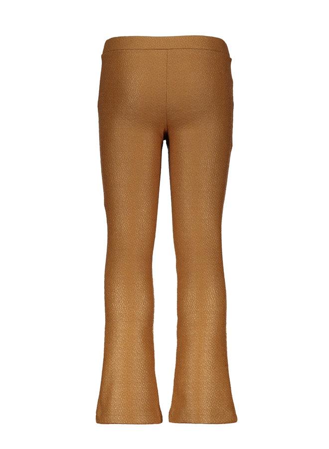 FLARED PANT F002-5648 | camel