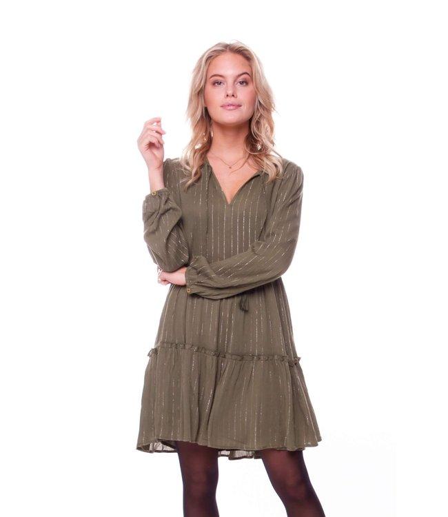 8132 - Abby Dress | army