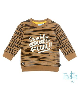 Feetje Sweater Born To Be Wild 516.01466 // camel
