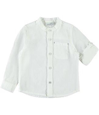 name it NMMFISH LS SHIRT BOX 13175701 // bright white