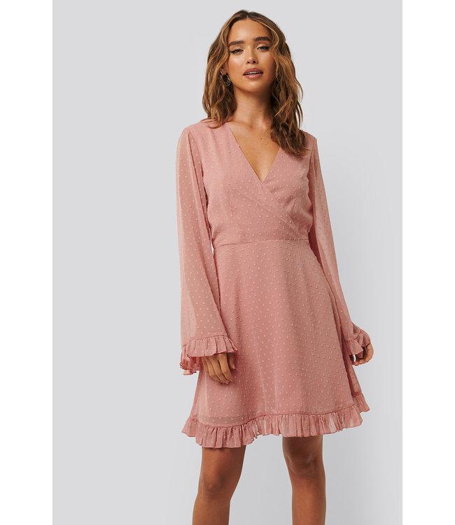 Dobby Dress 1014-000781 | dusty pink