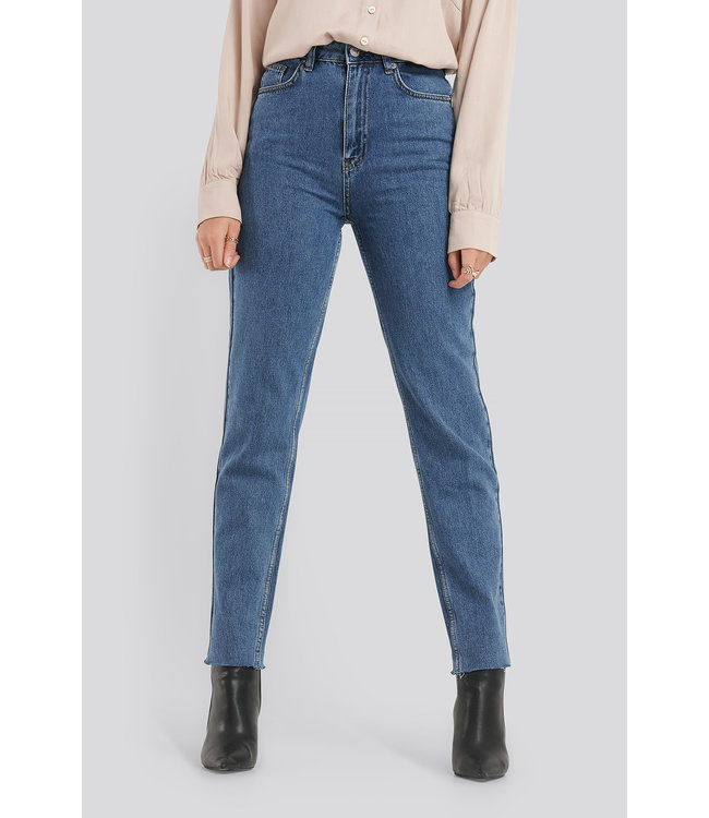 MOM JEANS 1018-004685 | mid blue
