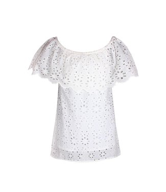 D-XEL TOP BRODERIE 4803942 | white