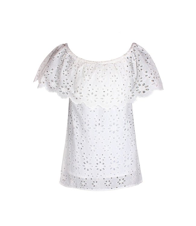 TOP BRODERIE 4803942 | white