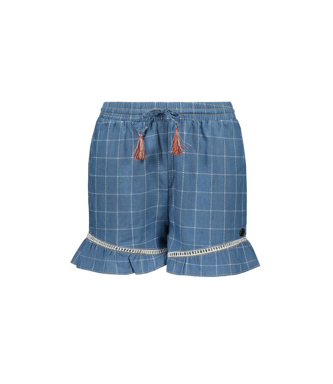 DENIM SHORT F003-5662 | check