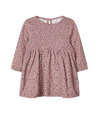 name it NBFHAFLOWER LS DRESS 13181851 // Nostalgia Rose
