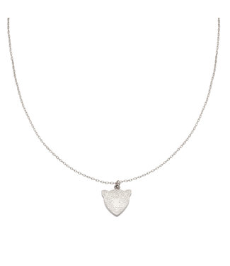 Necklace Famous Leopard | silver