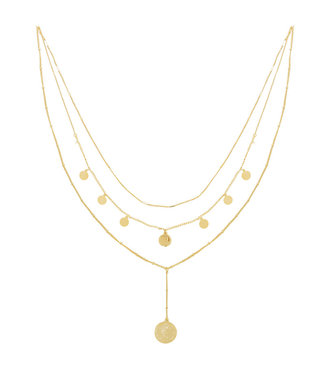 Necklace La Reina Layers | gold