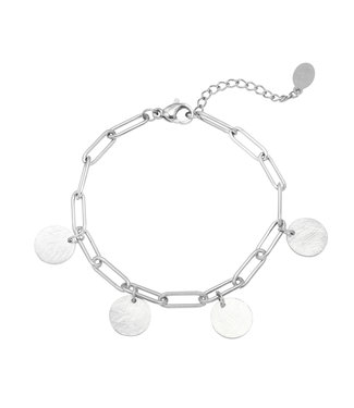 Bracelet Coins | silver