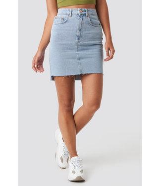 NA-KD Denim Skirt 1018-003431 | light blue