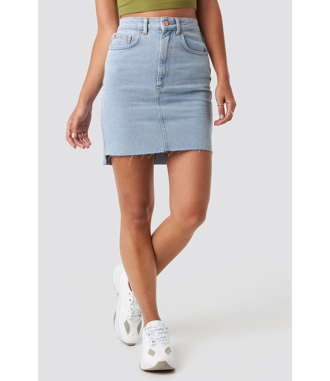 Denim Skirt 1018-003431 | light blue