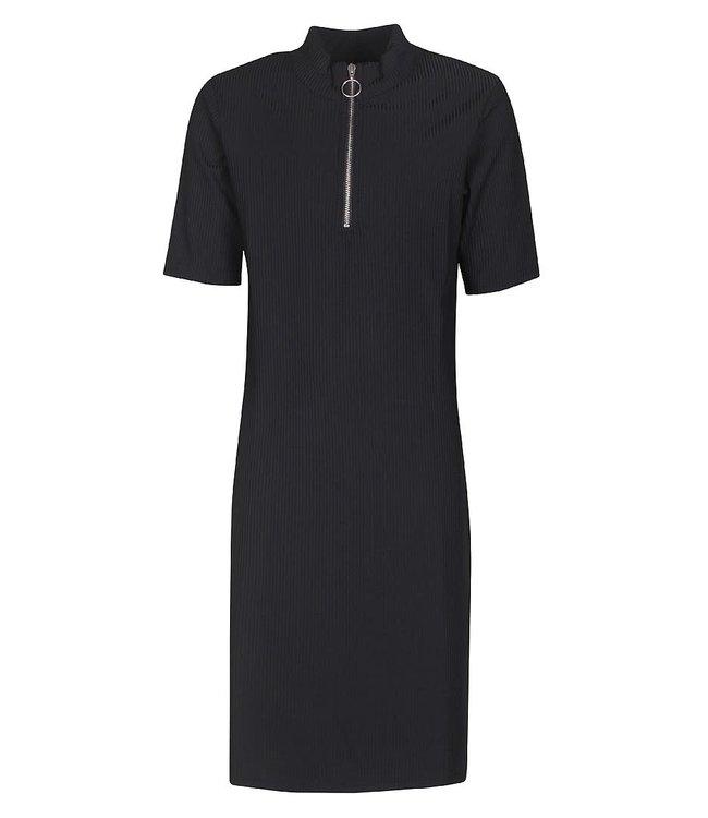 Dress Svana rib 4804952 | black