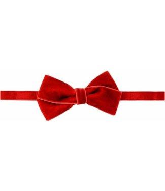 Your Little Miss Haarbandje met strik velvet | rood