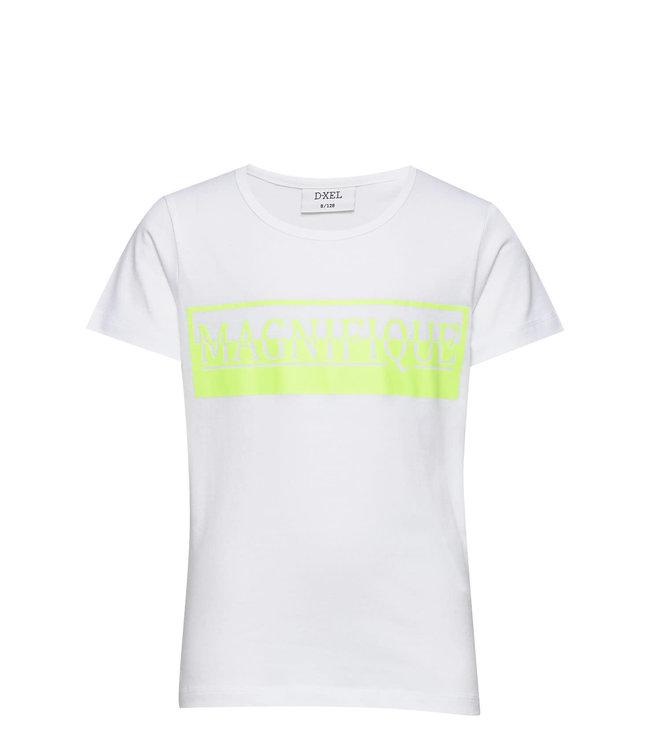 T-hirt 4504932 | white/yellow