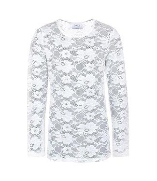D-XEL Longsleeve lace 4709540 | 0003 offwhite
