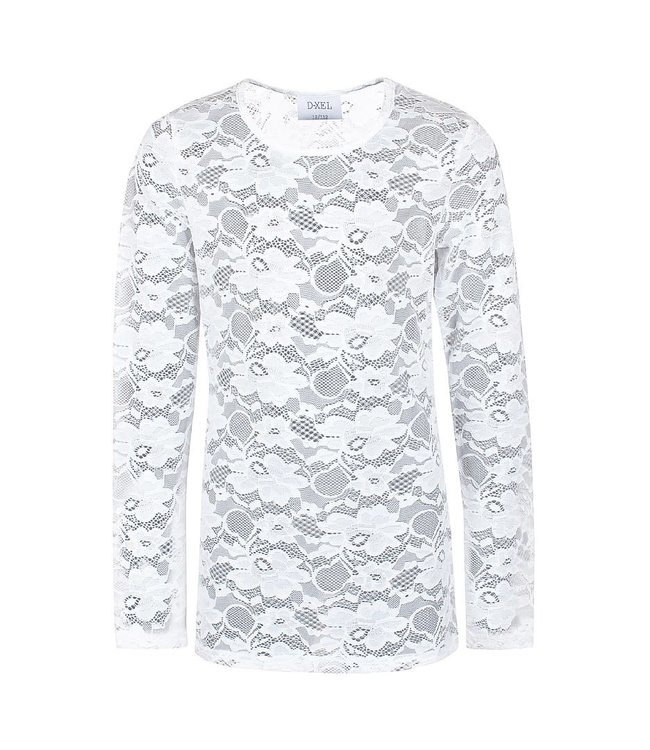 Longsleeve lace 4709540 | 0003 offwhite