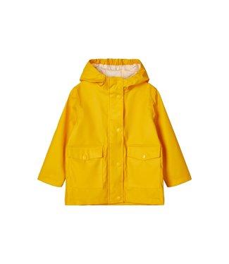 name it NMNMIL rain jacket 13173008 | golden rod