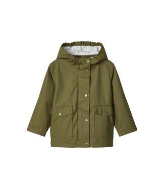 name it NMNMIL rain jacket 13173008 | Winter Moss