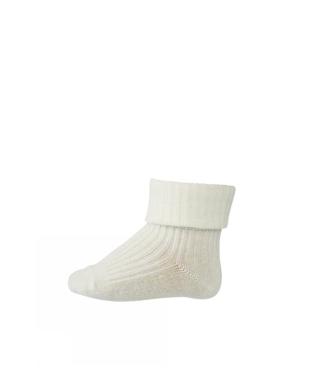 Socks  533 cotton rib | 432 snow white