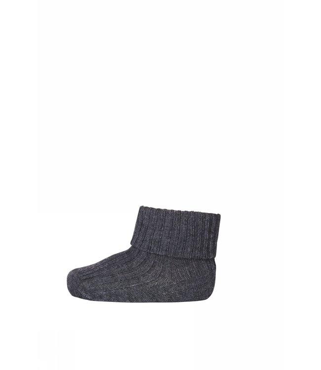 Socks rib 533 | 497 dark grey