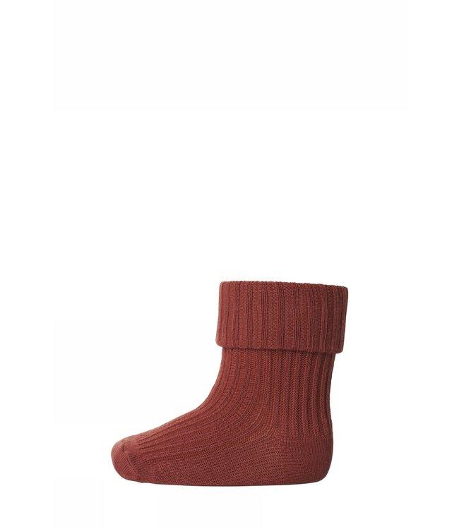 Socks rib 533   4194 clay