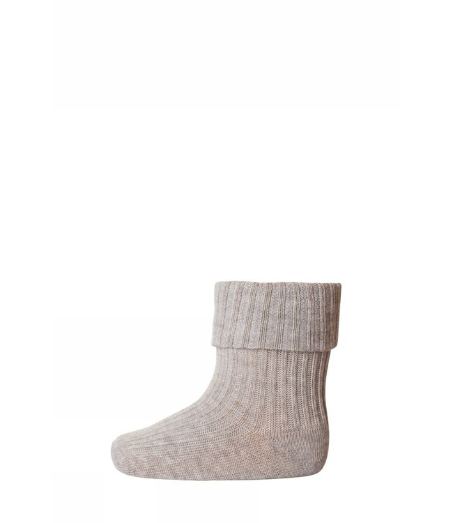 Socks rib 533   489 light brown