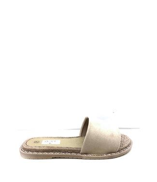 Slippers rotan | beige