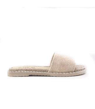 Slippers rotan | creme