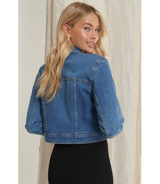 NA-KD Denim Jacket 1659-000002 | light blue