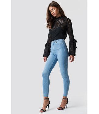 NA-KD Skinny jeans 1100-000796 | l blue