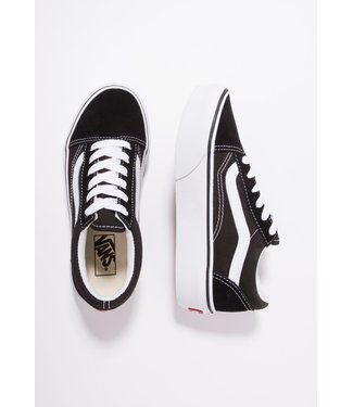 VANS UY Old Skool Platform Black/True White