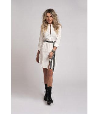 NIKKIE Rachel Shirt Dress 5-993 | off white