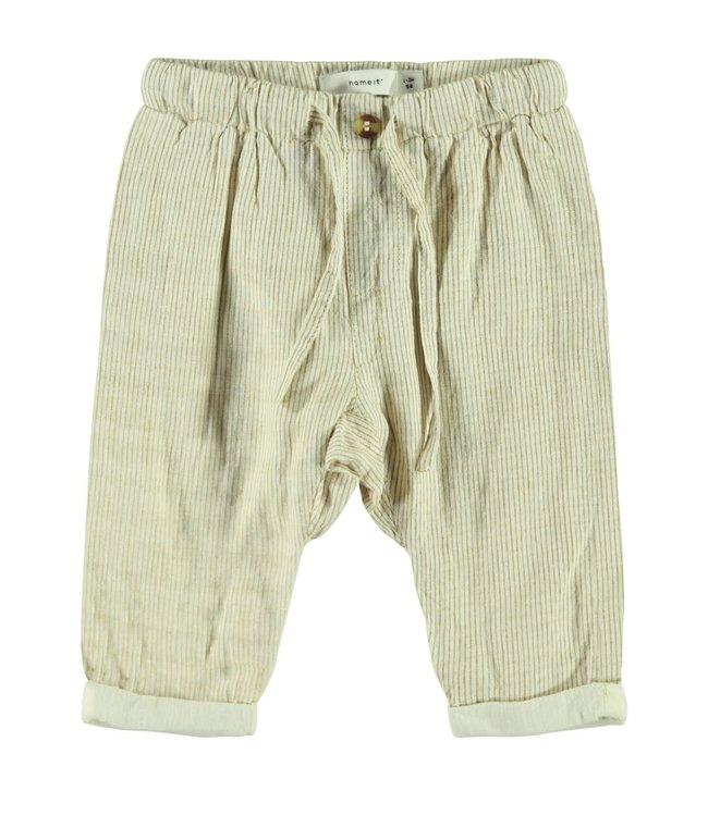 NBMFASAN Pants 13175197 | bone brown
