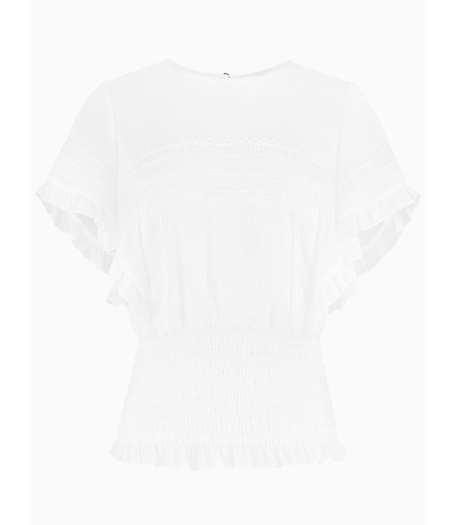 Fien Top 6-079 | optical white