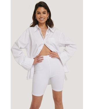 NA-KD Biker shorts 1625-000070 - white