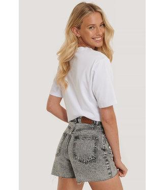 NA-KD Denim Shorts 1100-002986 - grey