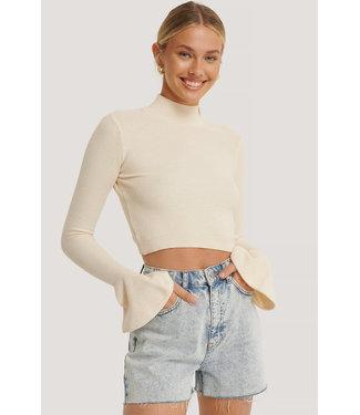 NA-KD Denim Shorts 1100-002986 - light blue