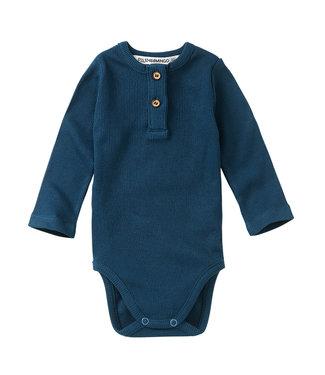 MINGO Rib Bodysuit Teal Blue