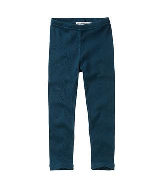 MINGO Rib Legging Teal Blue