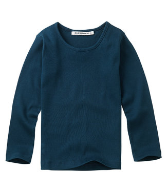 MINGO Rib Top Teal Blue