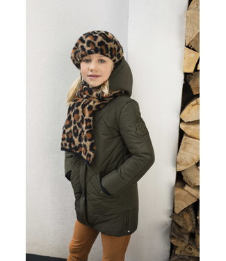 FLO Hooded jacket F007-5240 army