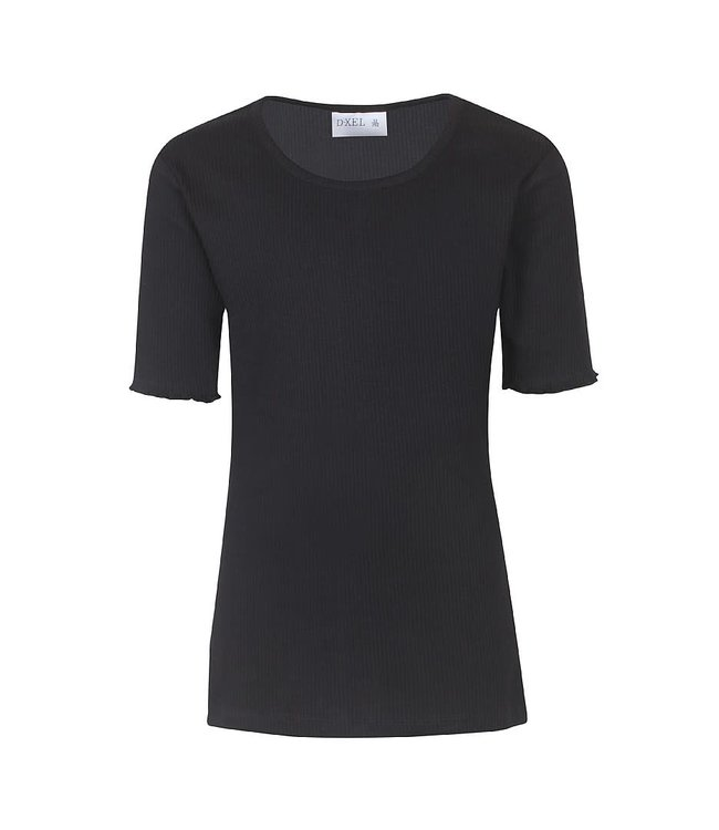 T-shirt s/s 4801812 - zwart